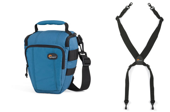 LOWEPRO - Toploader Zoom 50 AW en Topload Chest Harness